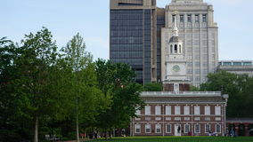 Independence Hall in Philadelphia Stock Photos