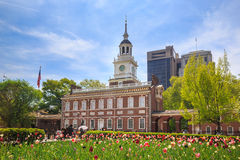 Independence Hall in Philadelphia. Pennsylvania Stock Image