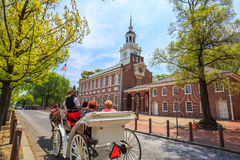 Independence Hall in Philadelphia Royalty Free Stock Images