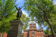 Independence Hall in Philadelphia Royalty Free Stock Photos