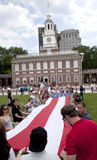 Independence Hall in Philadelphia, Pennsylvania Royalty Free Stock Photos