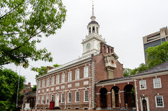 Independence Hall in Philadelphia Royalty Free Stock Photo