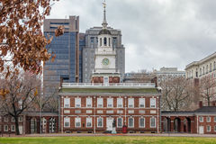 Independence Hall - Philadelphia, Pennsylvania, USA Royalty Free Stock Photos