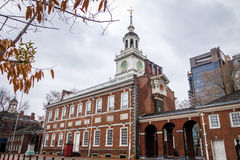 Independence Hall - Philadelphia, Pennsylvania, USA Stock Photos