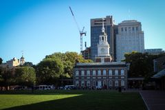 Independence Hall in Philadelphia, Pennsylvania, USA Stock Image