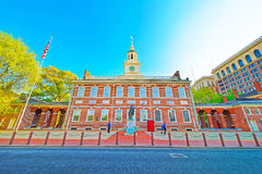 Independence Hall in Philadelphia Stock Images