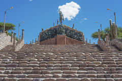 Independence Heroes in Humahuaca, Argentina. Royalty Free Stock Photos