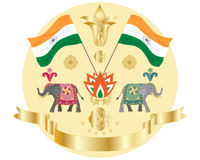 Independence india Stock Photography