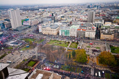 Independence March, Warsaw 2015 Royalty Free Stock Photo