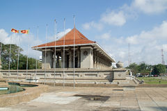 Independence Memorial Hall. Also Independence Commemoration Hall is a national monument in Sri Lanka built for commemoration of the independence of Sri Lanka Royalty Free Stock Photos