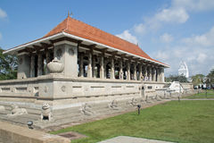 Independence Memorial Hall 2. Independence Memorial Hall also Independence Commemoration Hall is a national monument in Sri Lanka built for commemoration of the Royalty Free Stock Image