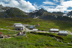 Independence Mine in Alaska Royalty Free Stock Image