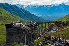 Independence Mine in Alaska Stock Images