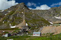 Independence Mine in Alaska Royalty Free Stock Photos