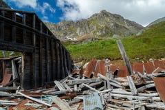 Independence Mine in Alaska Stock Photo