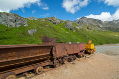 Independence Mine in Alaska Stock Image