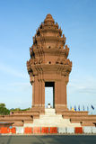Independence Monument. In Phnom Penh, Cambodia Stock Photos