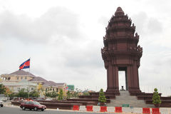 Independence Monument, Cambodia Stock Images