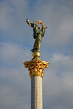 The Independence monument in Kiev Stock Photos