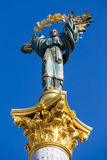 Independence monument in Kiev, Ukraine Stock Image