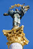 Independence monument in Kiev, Ukraine. Royalty Free Stock Photos