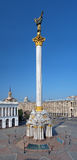 Independence Monument in Kyiv, Ukraine Stock Images