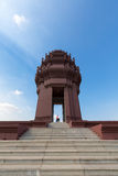 Independence Monument is a landmark in Phnom Penh, Cambodia Royalty Free Stock Photo