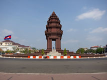 Independence Monument Phnom Penh Stock Image
