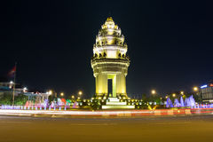 Independence monument in phnom penh Royalty Free Stock Photos