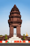 Independence Monument,Phnom Penh,Cambodia. The Independence Monument was built in 1958 for Cambodias independence from France in 1953. It stands in the centre of Royalty Free Stock Image