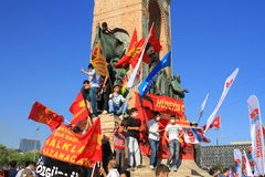 Independence Monument, Taksim Square Royalty Free Stock Images