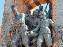 Independence Monument. Taksim Square, Istanbul, Turkey Royalty Free Stock Image