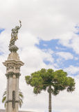 Independence Monunment at Historic Center of Quito Stock Photography
