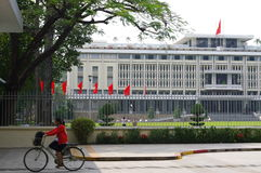 Independence Palace in HCMC Royalty Free Stock Images