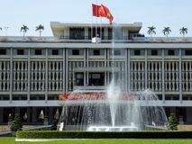 Independence palace ho chi minh city Vietnam zoom Stock Photography