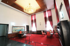 Independence Palace in Ho Chi Minh, Vietnam Royalty Free Stock Photo
