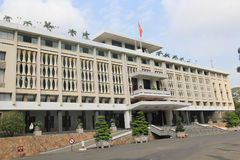 Independence Palace in Ho Chi Minh, Vietnam Royalty Free Stock Photography