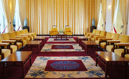 Independence Palace interior, Ho Chi Minh Stock Photo
