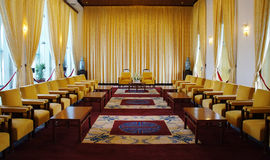 Independence Palace interior, Ho Chi Minh Royalty Free Stock Photo