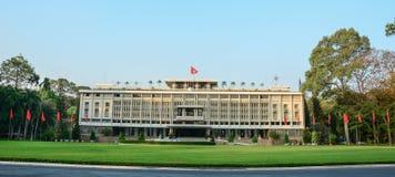 Independence Palace in Saigon Stock Photo