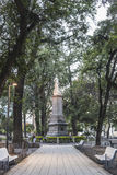 Independence Park in Tucuman, Argentina. Stock Photos