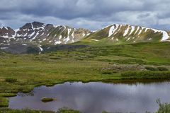 Independence Pass, Colorado royalty free stock images