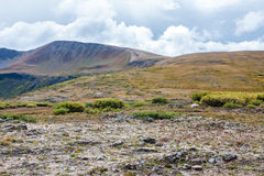 Independence Pass, Colorado. Autumn view from top of Independence Pass, Colorado stock photo