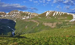 Independence Pass, Colorado royalty free stock photo