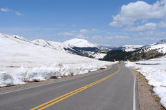 Independence Pass in May Royalty Free Stock Images