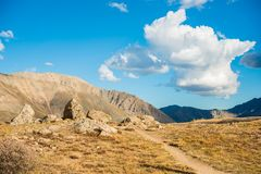 Independence Pass Scenery Royalty Free Stock Images