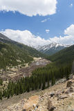 Independence Pass Scenic Stock Image