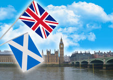 The independence of Scotland Stock Photos