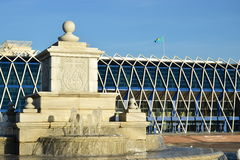Independence Square in Astana Stock Images