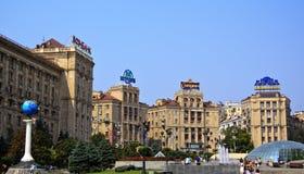 Independence square, Kiev, Ukraine Stock Photography